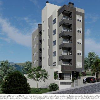 Apartamento com 2 dormitórios sendo 1 suíte Marau RS